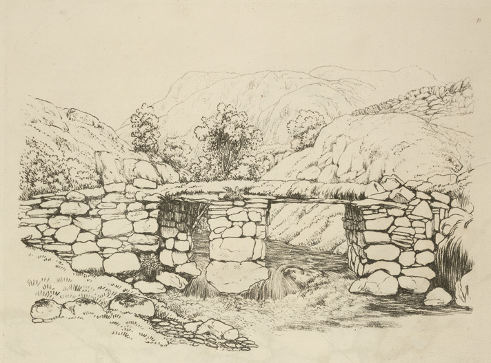 Bridge across a stream, Yewdale
